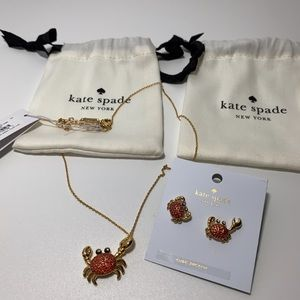 Kate Spade Shore Thing Necklace and Earring Set